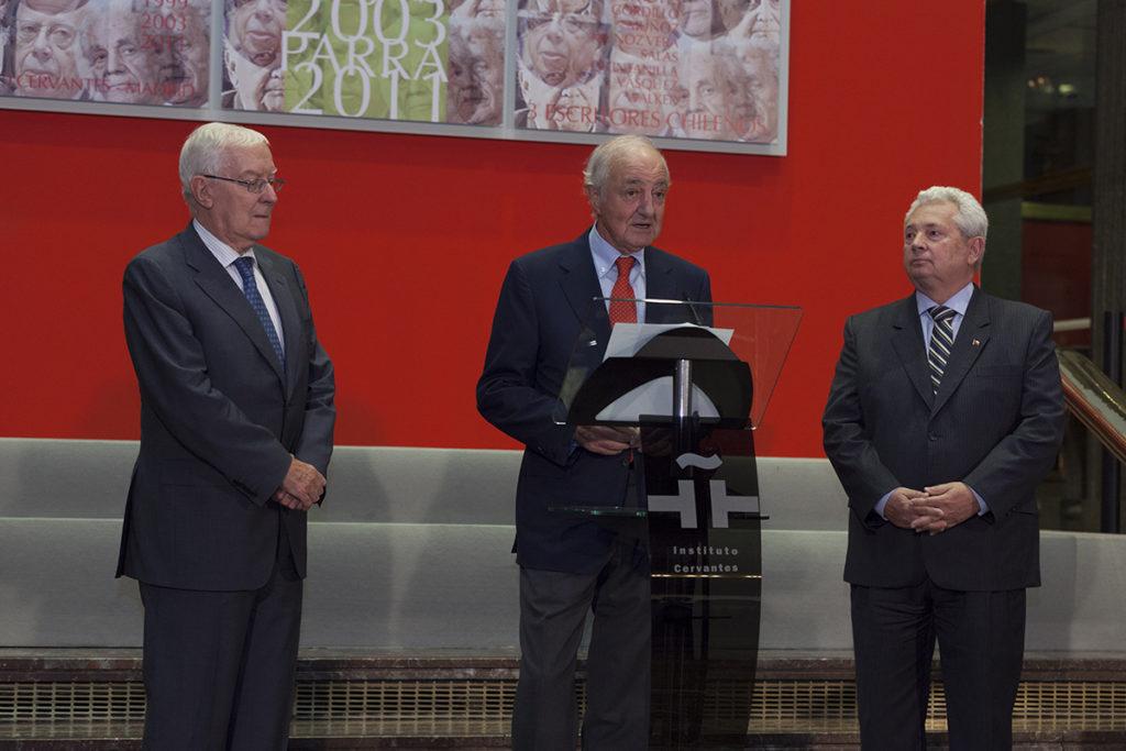 Victor de la Concha, Emilio Gilolmo, Embajador Marambio