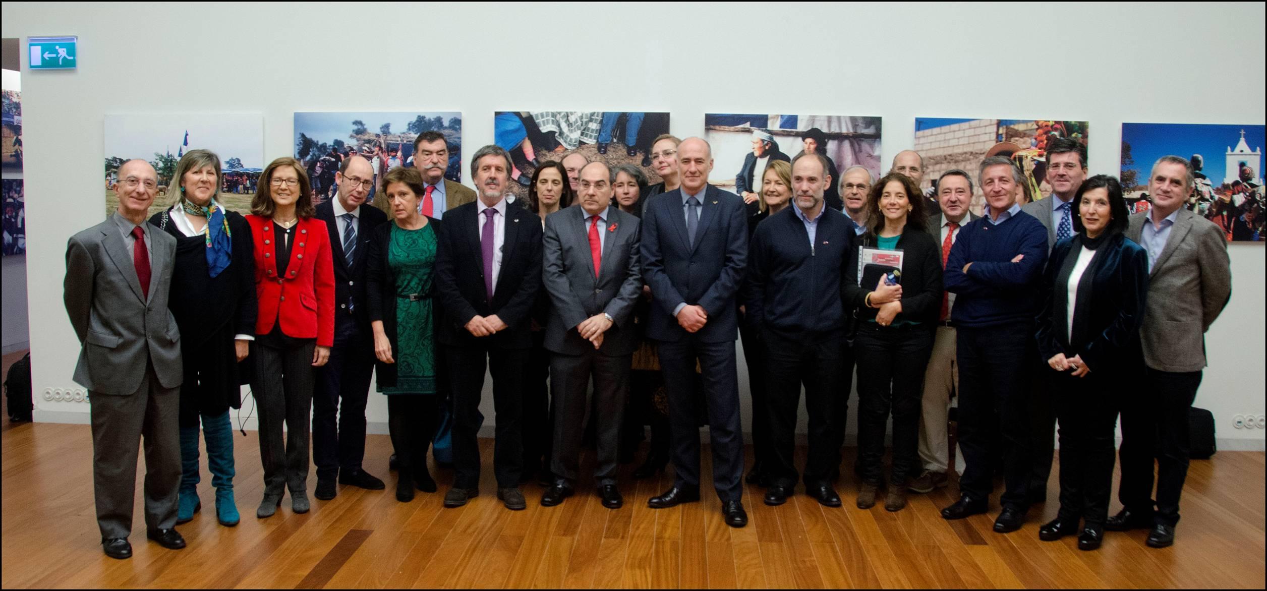 participantes en el II Encuentro Vasco Chileno de Investigación Biomédica