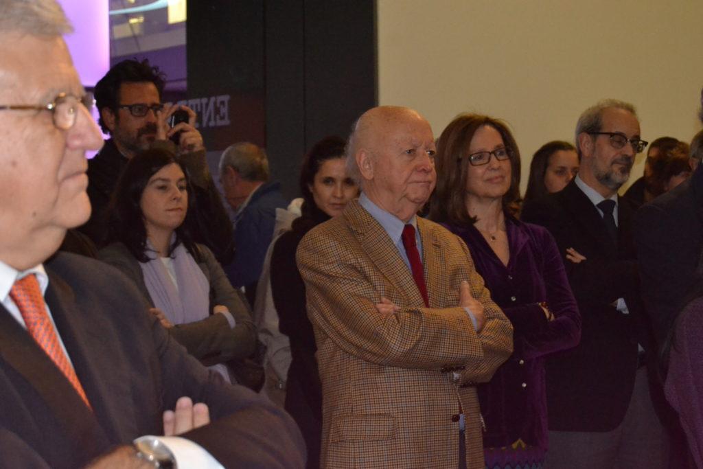 María Ángeles Osorio y Jorge Edwards