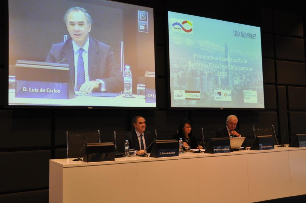 Inauguración Foro Reforma Fiscal en Uría Menéndez