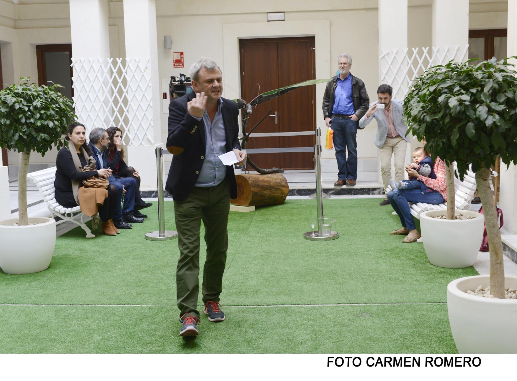 Perfomance Festival de Poesía de Cádiz