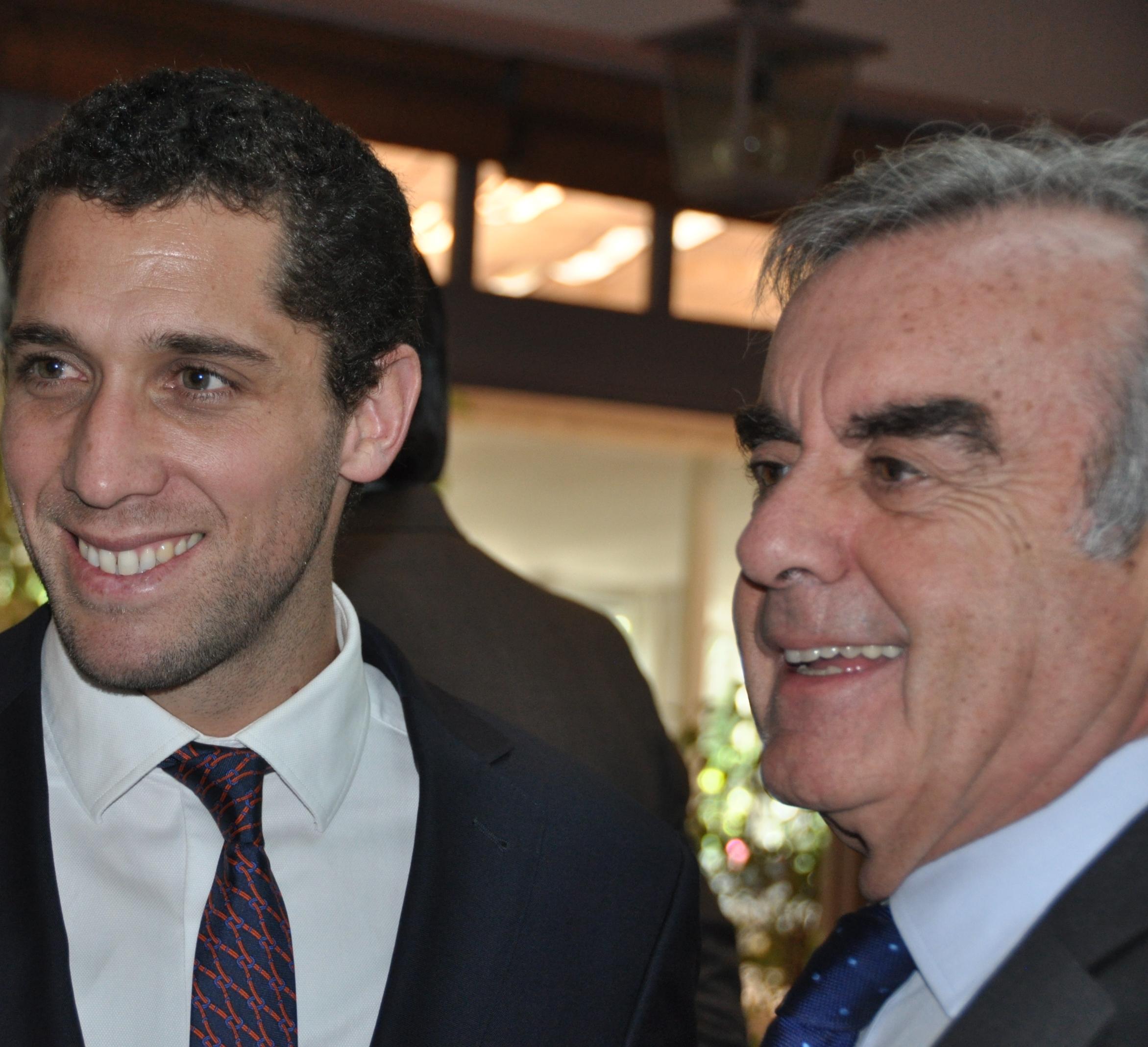 Jorge Pizarro Y Alfonso Merry del Val