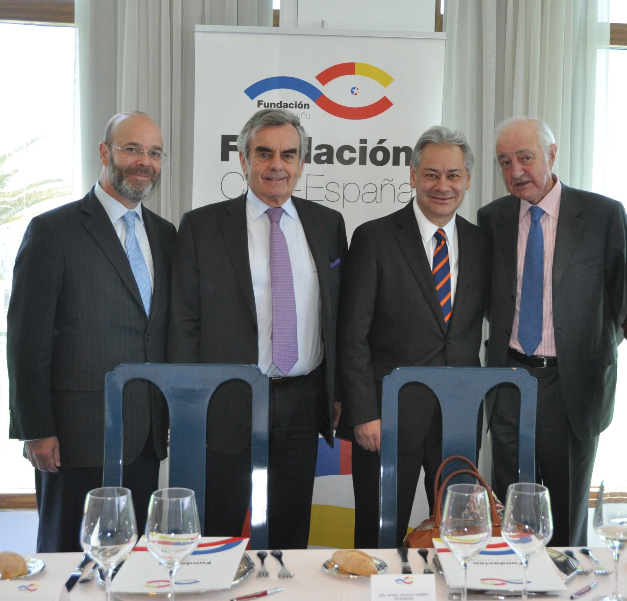 German Ríos, Gonzalo de Castro, Alfonso Merry del Vall, Emilio Gilolmo