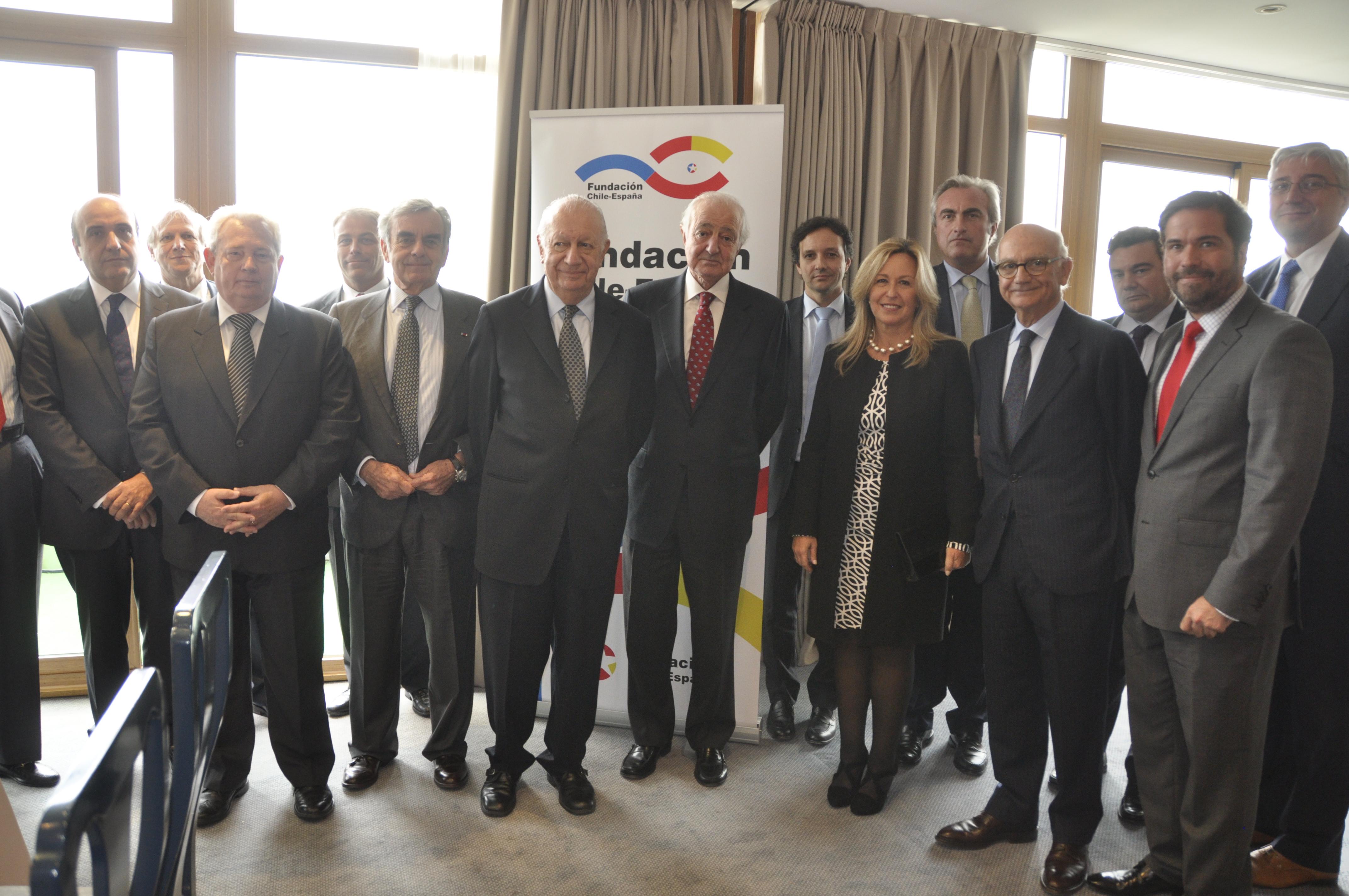 Almuerzo Coloquio con el presidente de Chile, Ricardo Lagos