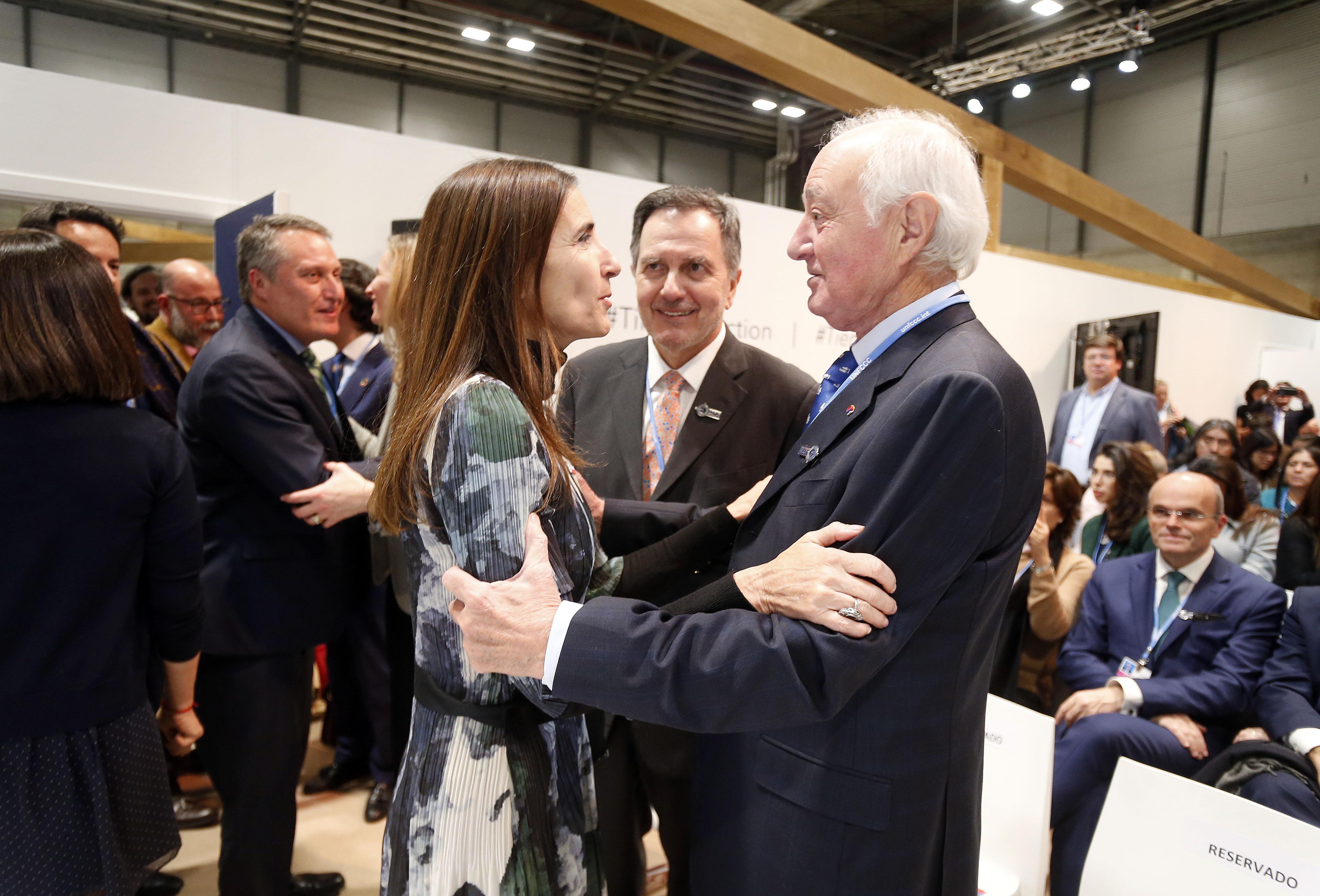 La ministra de Medio Ambiente chilena inauguró el Pabellón de Chile en la COP25 que se celebró en Madrid bajo su presidencia